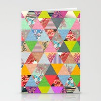 spring Stationery Cards featuring Lost in ▲ by Bianca Green