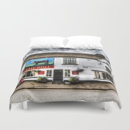 The Bull Pub Duvet Cover