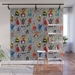 THE ZODIACS MUSIC ORCHESTRA Wall Mural