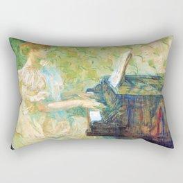 "Henri de Toulouse-Lautrec ""Misia Sert"" Rectangular Pillow"