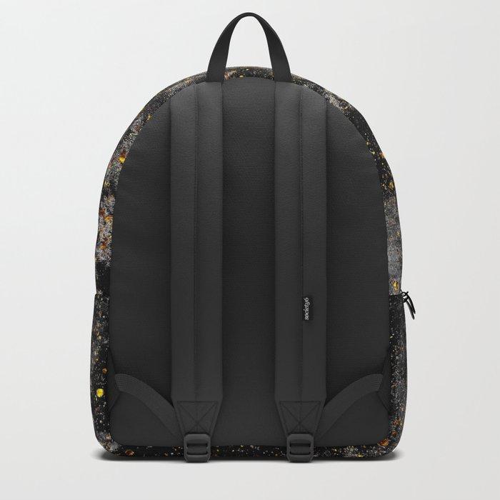 Galaxy (black gold) Backpack