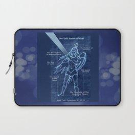Full Armor of God - Warrior Girl 2 Laptop Sleeve