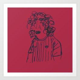 Carles Art Print
