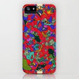 Earths Crowded Feelings iPhone Case
