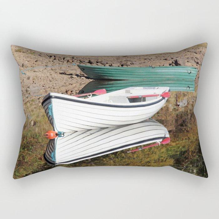 Boating for beginners Rectangular Pillow