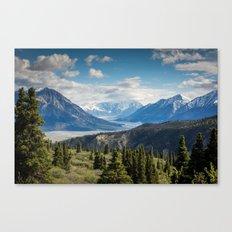 Mountain Landscape # sky Canvas Print