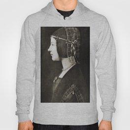 Bianca Sforza by Leonardo da Vinci Hoody