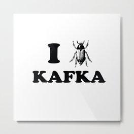 Kafka Metal Print