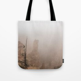 Bryce Canyon Obscured Tote Bag