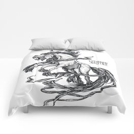 Mythological horse Sleipnir Comforters