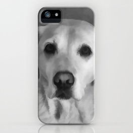 Cookies PLEASE! B&W iPhone Case