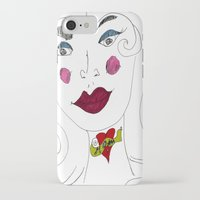 "mom iPhone & iPod Cases featuring ""MoM"" by Holly Lynn Clark"