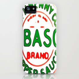 Tabascco - by Frankenberg iPhone Case