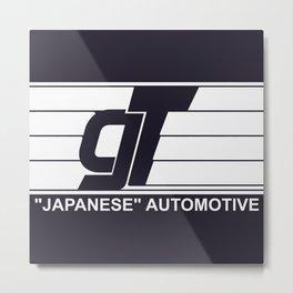 GT Japanese Automotive Metal Print