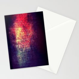 Light on the Metal Stationery Cards