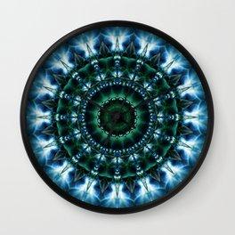 Mandala Skylight Wall Clock