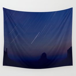 Monument Valley Star Trails Wall Tapestry