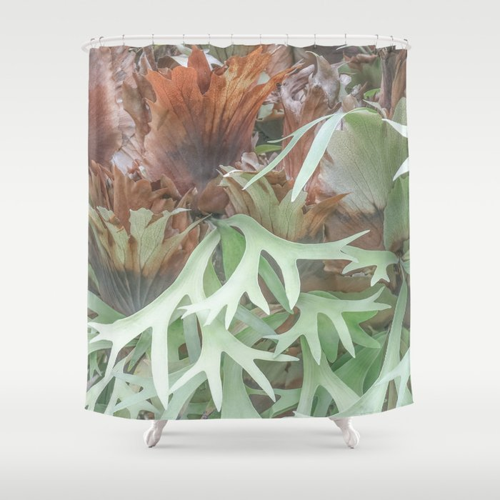 Ethereal Elkhorn Shower Curtain