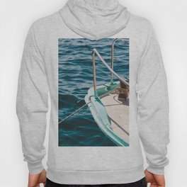 BOAT - WATER - SEA - PHOTOGRAPHY Hoody