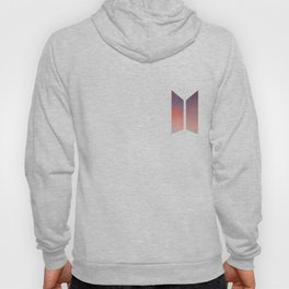 BTS LOGO ORANGE SKY Hoody