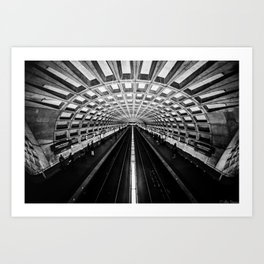 The Underground Art Print