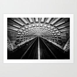 The Underground Art Print