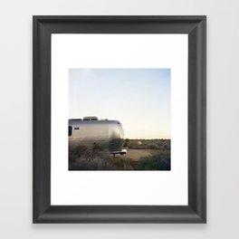 Mojave Airstream Framed Art Print