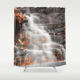 Shades of Death Waterfall Shower Curtain