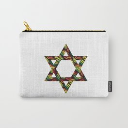 Star of David (Zion) Rasta Carry-All Pouch
