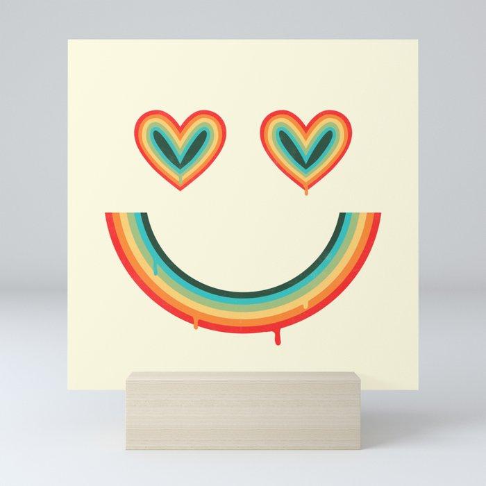 Happy Rainbow Mini Art Print