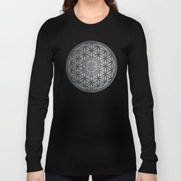 Sacred Unity - Sacred Geometry Long Sleeve T-shirt