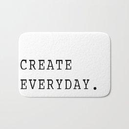 Create Everyday Bath Mat