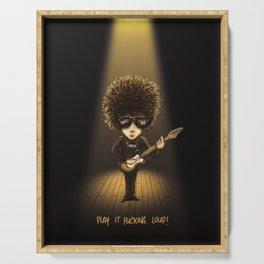 Live '66 Bob Dylan Serving Tray