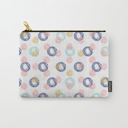 Colorful Scribbles Carry-All Pouch