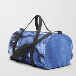 Swirling Blue Waters II - Painting Duffle Bag