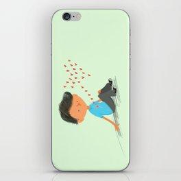 Boy in Love iPhone Skin
