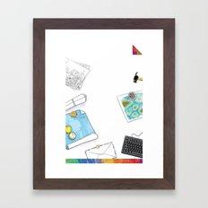 you're COLOR - Page 11 Framed Art Print