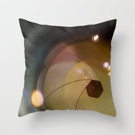 Taking a Picture Throw Pillow