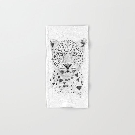 Lovely leopard Hand & Bath Towel