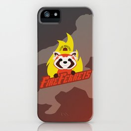 Future Industries Fire Ferrets iPhone Case