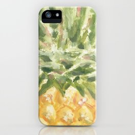 Pineapple Love iPhone Case