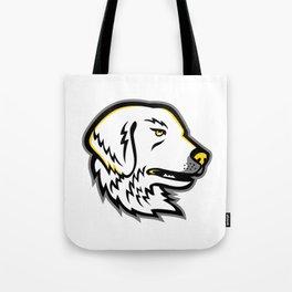 Great Pyrenees Dog Mascot Tote Bag