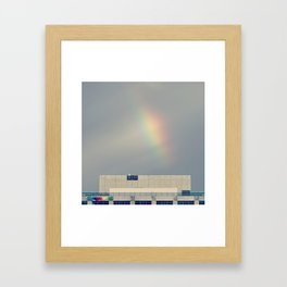 Technicolor Rainbow Framed Art Print
