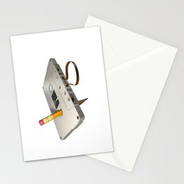 audio cassette /Marek/ Stationery Cards