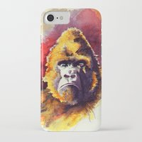 ape iPhone & iPod Cases featuring APE by Chris Brothers