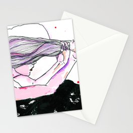 Acht Mädchen.  Stationery Cards
