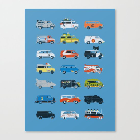 It Would Have Been Cooler as a Van Canvas Print