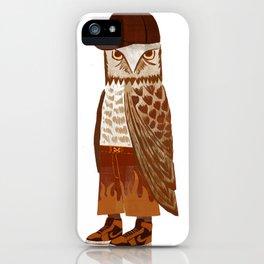 Hip Hop Owl iPhone Case