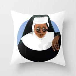 SISTER ACT Throw Pillow