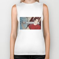 stiles Biker Tanks featuring stiles by kala